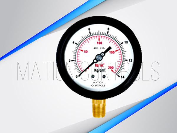 Cast-Aluminium-Brass-Pressure-Gauge