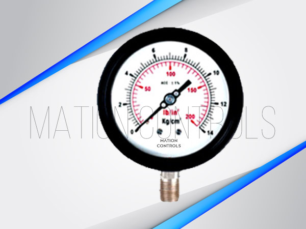 Cast-Aluminium-SS-Pressure-Gauge