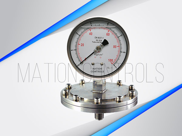 Diaphragm-Type-Pressure-Gauge