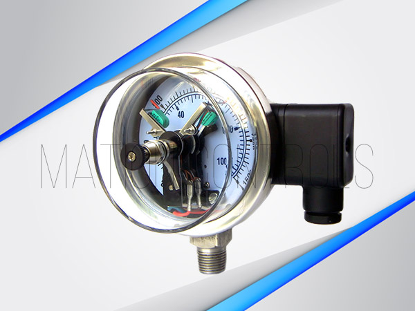 Electric-Contact-Pressure-Gauge