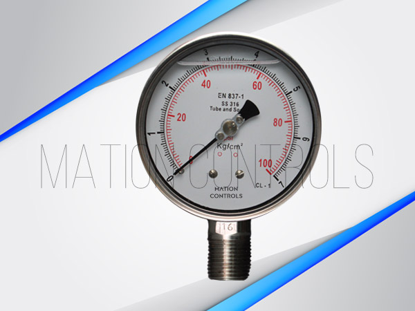 Liquid-Filled-Pressure-Gauge