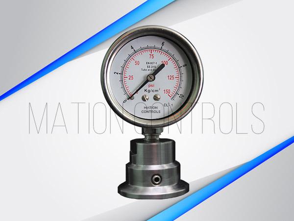 Triclover-Pressure-Gauge